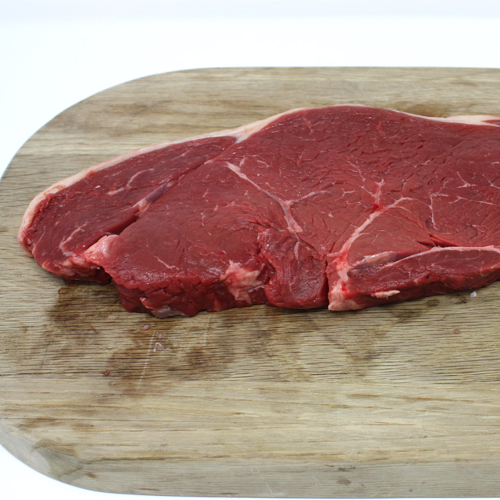 A slice of rump steak